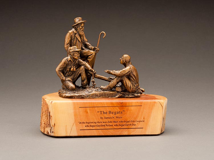 The Begats a bronze sculpture by James Muir Allegorical Sculpture Artist