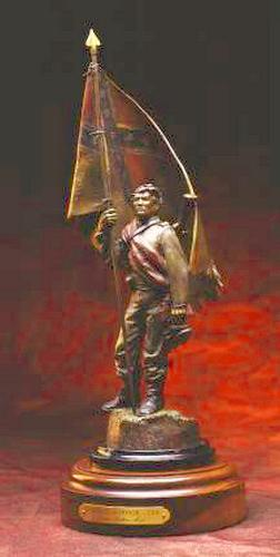 Heritage of Honor II a Bronze Civil War Sculpture Allegory by James Muir