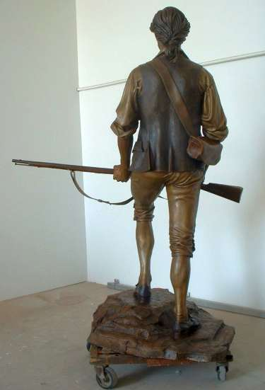 Sons of Liberty 1775 by James Muir bronze sculptor