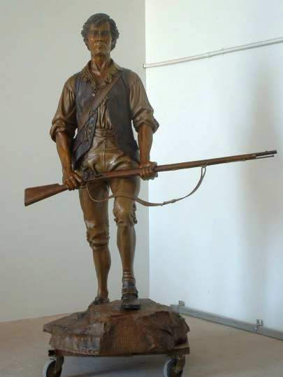 Sons of Liberty 1775 a Monumental Bronze Sculpture